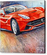 2014 Ferrari F12 Berlinetta  Acrylic Print