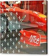 Ferrari Formula One Acrylic Print