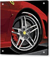 Ferrari Front End Acrylic Print