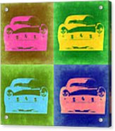 Ferrari Front Pop Art 3 Acrylic Print by Naxart Studio
