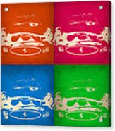 Ferrari Front Pop Art 4 Acrylic Print