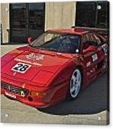 Ferrari Garage Acrylic Print