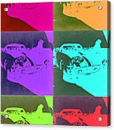 Ferrari Gto Pop Art 3 Acrylic Print by Naxart Studio