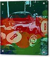 Ferrari Laguna Seca Racing Acrylic Print