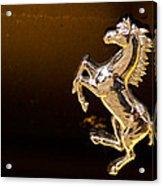 Ferrari Logo Acrylic Print
