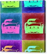 Ferrari Pop Art 2 Acrylic Print