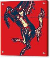 Ferrari Stallion In Hope Acrylic Print