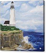 Ferrels Lighthouse Acrylic Print