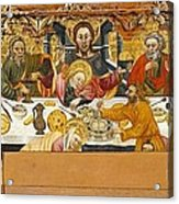 Ferrer, Jaume 15th Century. The Last Acrylic Print