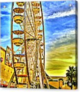 Ferris Wheel In Lb Acrylic Print