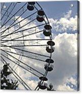 Ferris Wheel In The Sky Acrylic Print