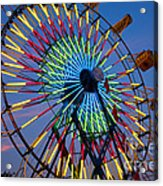 Ferris Wheel, Kentucky State Fair Acrylic Print