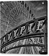 Ferris Wheel Navy Pier Acrylic Print