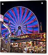 Ferris Wheel Rides And Games Acrylic Print