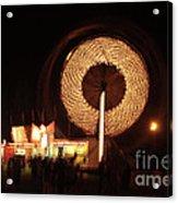 Ferris Wheel Spin Acrylic Print