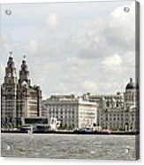 Ferry At Liverpool Acrylic Print