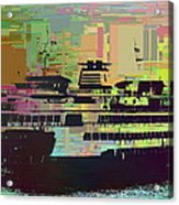 Ferry Cubed 2 Acrylic Print