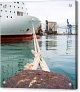 Ferry Mooring Acrylic Print