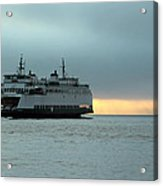 Ferry Sealth In The Fog Acrylic Print