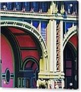 Ferry Terminal Arches At The Battery, New York Acrylic Print