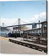 Ferry Terminal Acrylic Print