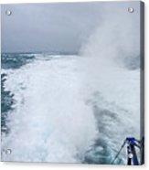Ferry Wake 2 Acrylic Print