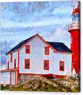 Ferryland Lighthouse In Newfoundland Acrylic Print