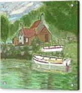 Ferryman's Cottage Acrylic Print