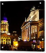 Festival Of Lights Gendarmenmarkt Berlin Acrylic Print