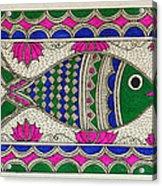 Festive Fish Acrylic Print