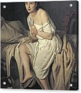Fiamminghi, Giacomo 1815 - 1895. Love Acrylic Print