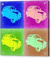 Fiat 500 Pop Art 2 Acrylic Print