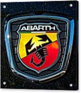 Fiat Abarth Emblem Acrylic Print