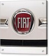 Fiat Logo Acrylic Print