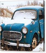 Fiat Millecento Acrylic Print