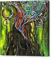 Ficus Acrylic Print