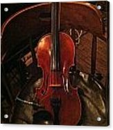 Fiddle Acrylic Print