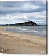 Fidra Island Lighthouse Acrylic Print