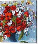 Field Bouquet 2 Acrylic Print