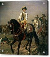 Field Marshal Baron Ernst Von Laudon 1717-90, General In The Seven Years War And War Of Bavarian Acrylic Print
