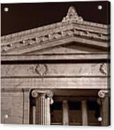 Field Museum Of Chicago Bw Acrylic Print