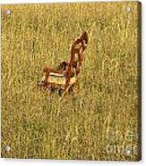 Field Of Chair Acrylic Print