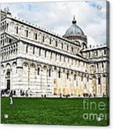 Field Of Dreams Cathedral Acrylic Print