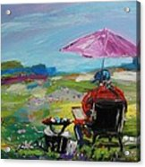 Field Painter  Acrylic Print
