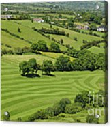 Fields In Northern Ireland Acrylic Print