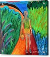 Fields Of Agave II Acrylic Print