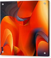 Fiery Color For Iphone Art Acrylic Print