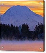 Fiery Dawn Acrylic Print