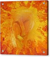 Fiery Love Acrylic Print