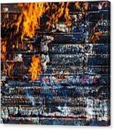 Fiery Transformation Acrylic Print
